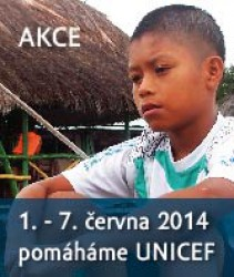 Fotografie k novince Pomáháme s UNICEF